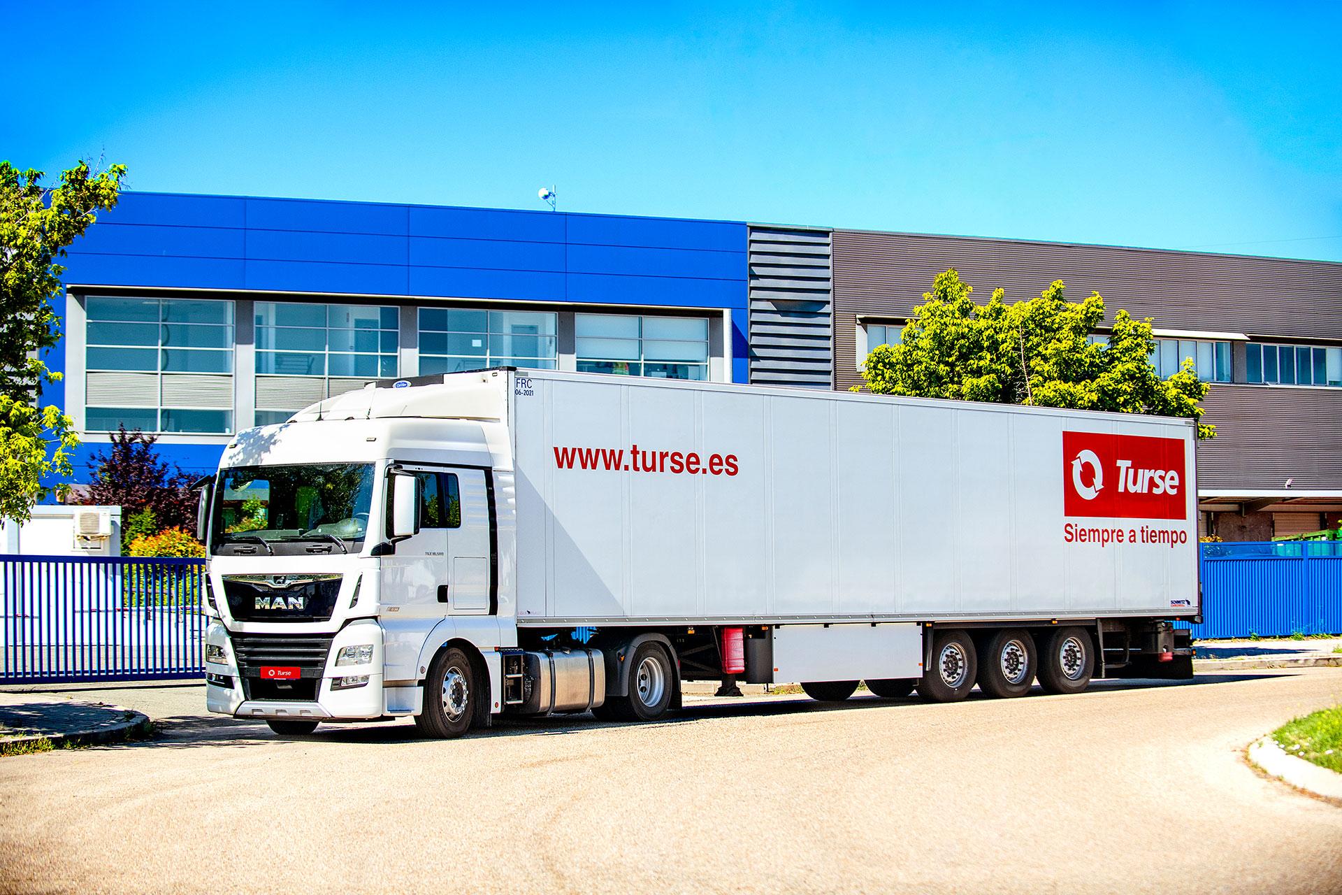 Turse - Empresa de transporte y logística - Siempre a tiempo